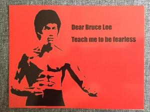 BruceLeePostcard