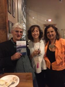 Rachel Hall (center) with Howard Solomon and Marijana Ababovic, 9.27.16.