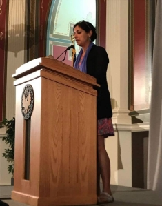 Reading at The Library of Congress, July 29, 2017